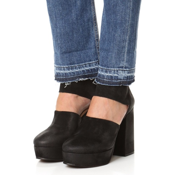 05548930a09 Free people black Luxor platform heels! NEW!