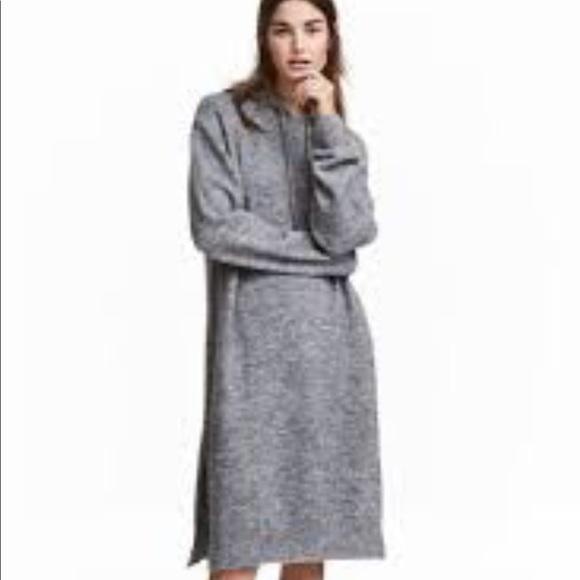 vente en magasin spécial chaussure Conception innovante H&M hooded sweater dress. NWOT.