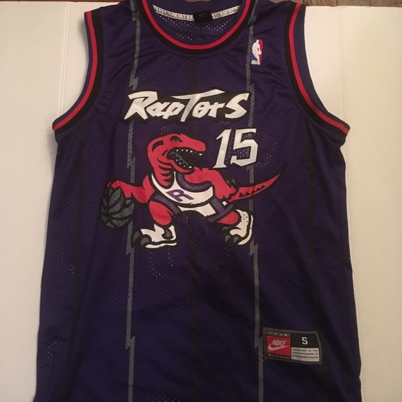 b8e6879d27b Nike authentic Vince Carter Toronto Raptors jersey.  M_59aa02c04e8d171b3c001b61
