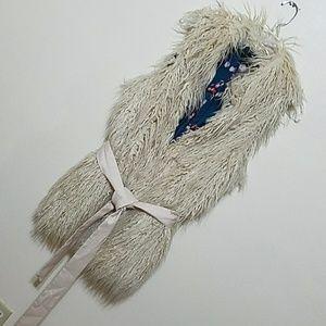MISS ME COUTURE Furry Vest