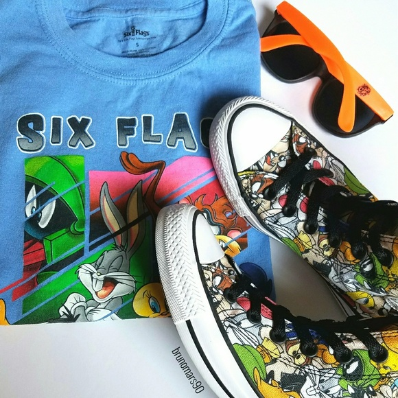 b2cf1a260b5a Converse Shoes - ✨HP✨ Converse All Star Hi Looney Tunes Sneakers