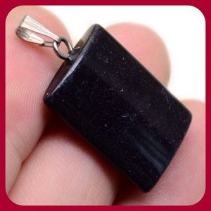 Jewelry - Black Jasper Gemstone Pendant