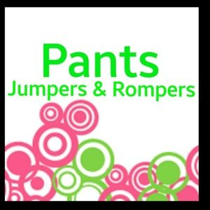 Pants, Jumpers & Rompers