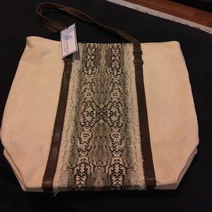 Handbags - Canvas beach tote
