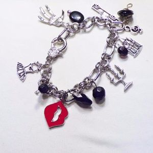 Jewelry - Rocky Horror Picture Show Inspired Charm Bracelet