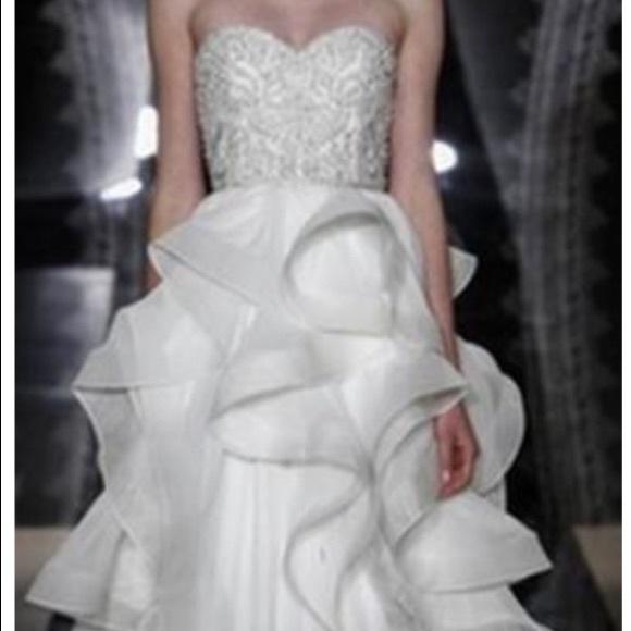 Reem Acra Dresses & Skirts - Reem Acra wedding dress