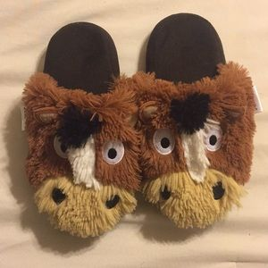 Lazy One Horse Slippers