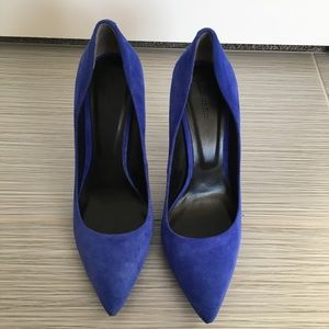 Rachel Roy electric blue pumps