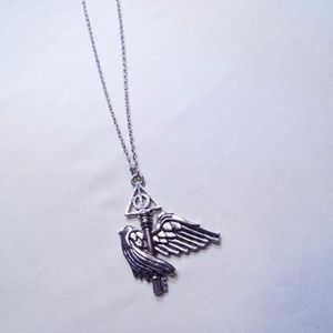 Jewelry - Harry Potter Winged Key Necklace