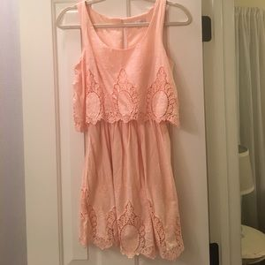 Gianni Bini (GB) Peach Dress