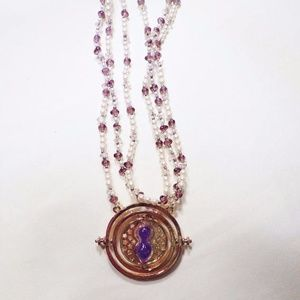 Jewelry - Purple Timeturner Harry Potter Necklace