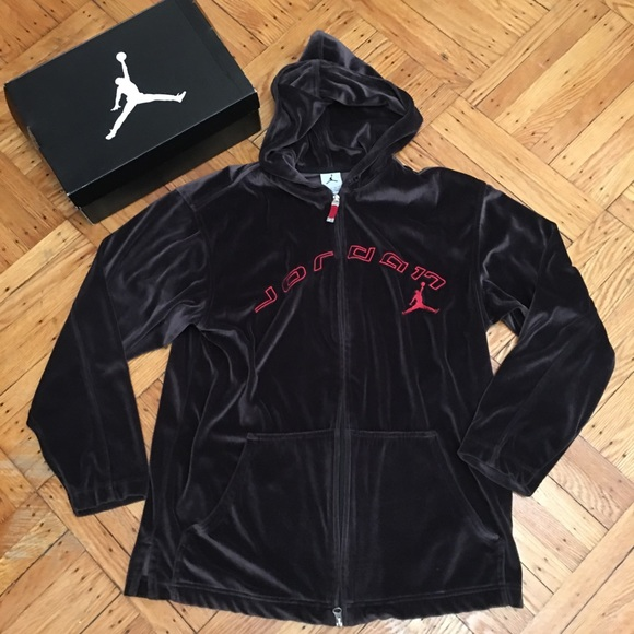 a06c3679ef9 Jordan Jackets & Coats | Vintage Velour Jacket Size S Runs Big ...