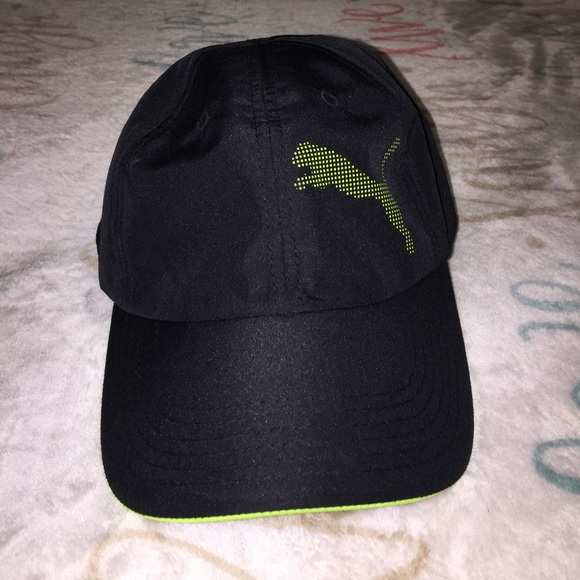 promo code 0a950 06fe4 Brand New Puma black and green Hat