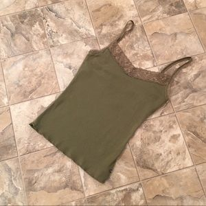 ABERCROMBIE & FITCH Green Tank Top