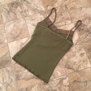 Abercrombie & Fitch Tops - ABERCROMBIE & FITCH Green Tank Top