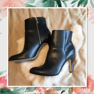 H&M Healed Zip Up Boots