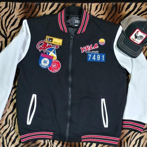 Y R Varsity Jacket Mens XL. M 59aa3ecf3c6f9f702f00698f 701d4737a