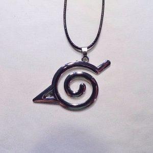 Other - Naruto Konohagakure Leaf Village Symbol Necklace