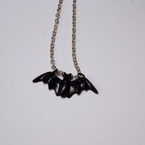 Jewelry - Black Bat Necklace