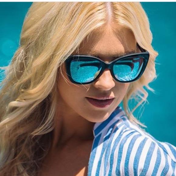 cc57ed391e9 Christina el moussa diff sunglasses ruby nwt