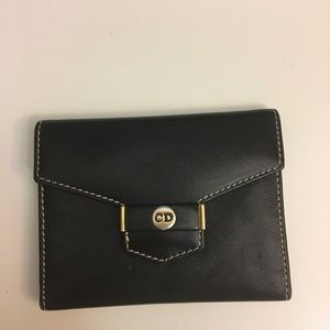 Christian Dior Black Small Vintage Wallet