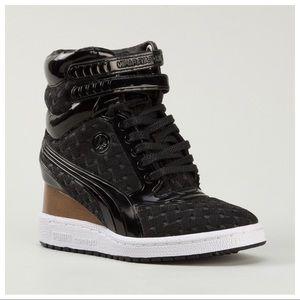 Puma Shoes - PUMA MY-77 High-Top Wedge Sneaker 47fba2e5b0ed