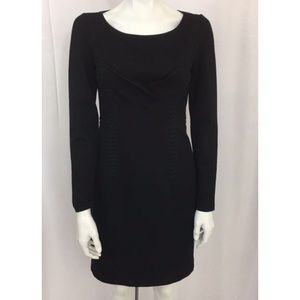 Kobi Halperin Black Presley Sheath Dress Size 4