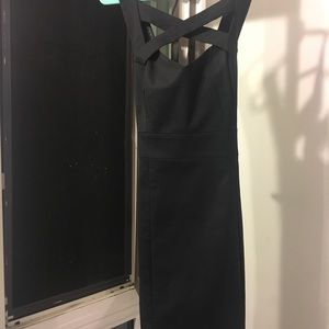 A/X Armani Exchange Crisscross Cocktail Dress