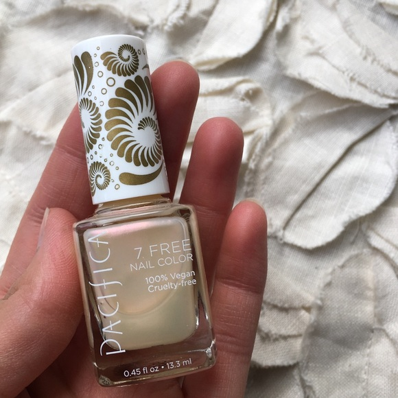 Pacifica 7 Free Nail Polish in unicorn horn