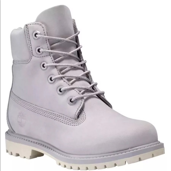 clearance sale fashion styles luxuriant in design NWT Timberland Women's Light Gray Prem 6