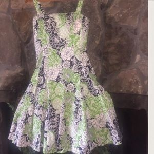 🌿KIM ROGERS🌿FLORAL FIT ANF FLARE🌿