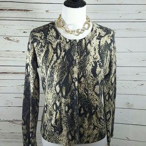 Jones NY 100% Cashmere Sweater, M