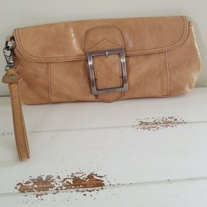 Kenneth Cole Reaction Leather Clutch/Wristlet