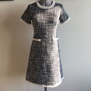 Dresses & Skirts - Beautiful Wool Dress Pearl Trim
