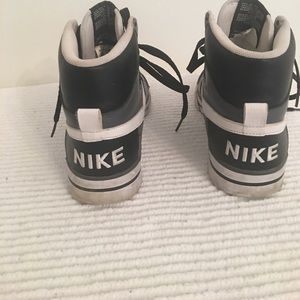 Nike Delta Force black, white, grey.