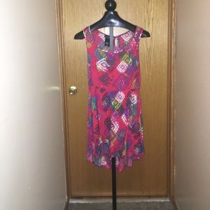 Juniors Size L High Low Dress