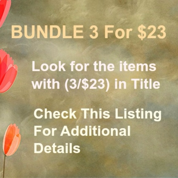 Other - Bundle and save BIG - Like for new item updates