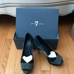 7 for All Mankind Leather and Suede Shoes