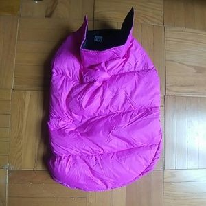 Accessories - large hot pink dog winter puffer coat