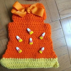 Accessories - Handmade halloween holiday doggy vest outfit small