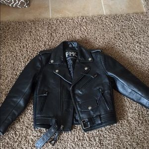 Other - FMC Leather Jacket (children's)