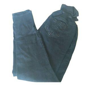 Maternity Dark Skinny Jeans/Jeggings L