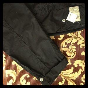 Motherhood maternity cropped cargo pants