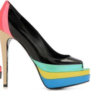 Ruthie Davis Popsicle peep-toe pump