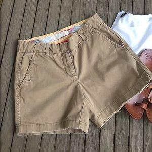 J. Crew Weathered Chino Shorts
