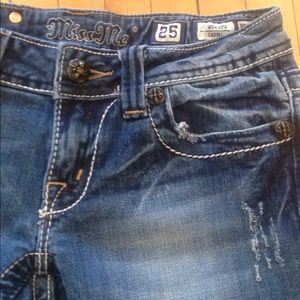 Miss Me Jeans - Miss Me Capri Aztec Tribal Pockets