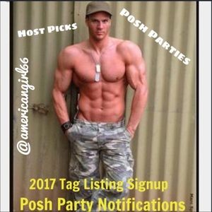 Accessories - 🎉🇺🇸2017/2018 Posh Party Tag Listing🎉🇺🇸