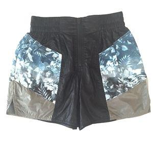 Alexander Wang Floral Shorts in Black