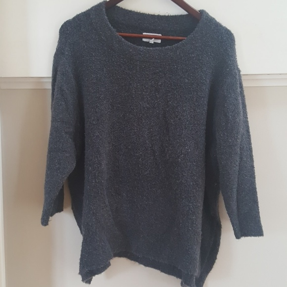54% off Lou & Grey Sweaters - Lou & Grey Boucle Fuzzy Sweater from ...