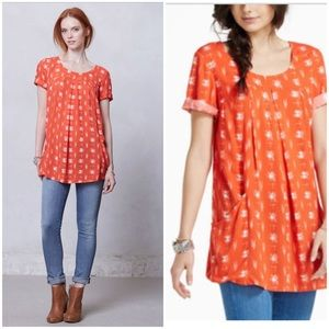 Anthropologie Holding Horses Abstractions Tunic
